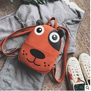 2020 New PU Nubuck Leather Cartoon Dog Printing Children School Bags Kids Travel Backpacks for Baby Girls Boys Cute Style