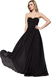 Best strapless pleated gown Reviews