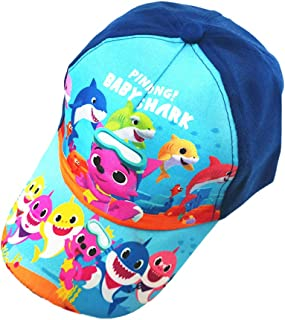 Baby Cute Shark Hat Accessories,Toddler Boys Baseball Cap Adjustable Birthday Gift, Party Supplies Decorations Blue