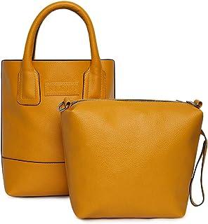KLEIO Combo Bag in Bag Tote Handbag for Women Girls