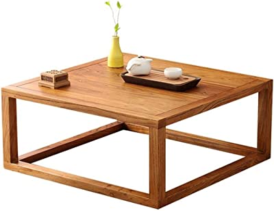 LXZDZ Coffee,Table Rustic Vintage Industrial Design Sturdy Legs Sofa Table Mini Coffee Table Tatami