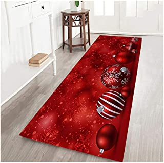 HHmei Merry Christmas Welcome Doormats Indoor Home Carpets Decor 40x120CM Decorations Outdoor Tree Table Lights Blue Home Set Silver Wall Ornaments Party Banners 54G