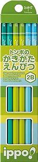 トンボ鉛筆 鉛筆 ippo! かきかた 2B プレーンN 1ダース KB-KPN02-2B