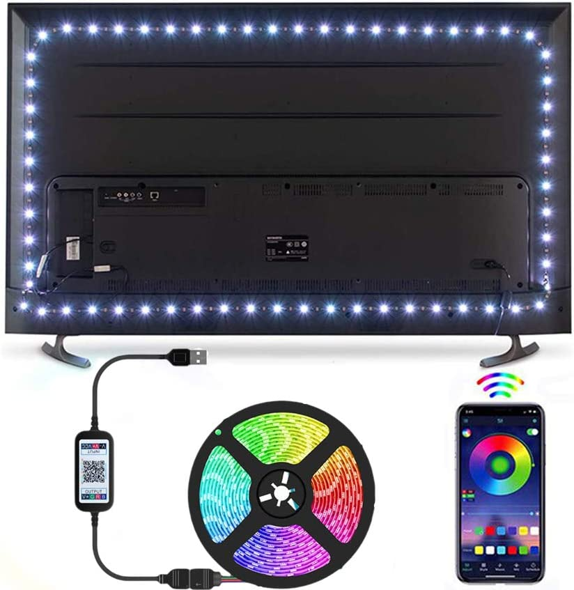 trend rank St.Mary Tino LED Strip Lights Max 75% OFF Backlight TV St RGB 16.4ft