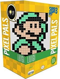PDP - Lampara de sobremesa Pixel Pals Luigi - Mario Bros (PS4), Multicolor