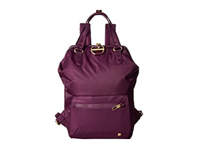 Pacsafe Citysafe CX Anti-Theft Mini Backpack (Dahlia) Backpack Bags
