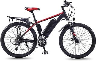 Elektrisk mountainbike, snöcykel för vuxna, fet däckcykel elcykel all terräng, med avtagbart litiumjonbatteri 27 växlar, 3...
