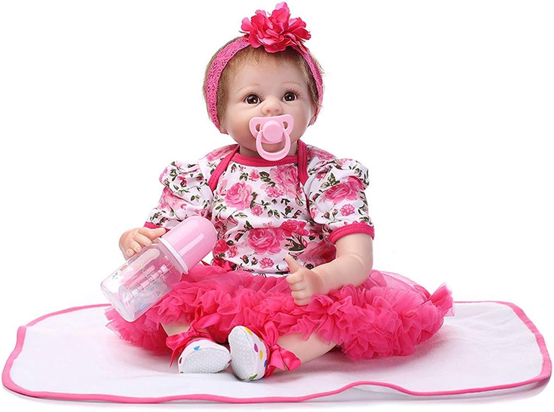 IIWOJ Baby Doll simuliert Silikon Doll 55cm Baby-Bekleidungsmodell B07KPR31VT Schönes Design  | Zürich Online Shop