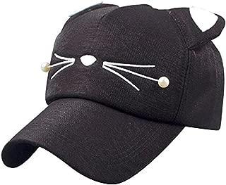 Baby Cartoon Baseball Cap Adjustable Strap Cat Ears Cap Sun Hat