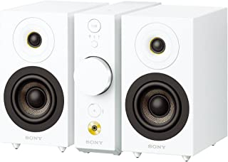 ソニー SONY コンパクトオーディオシステム CAS-1 : Bluetooth/ハイレゾ対応 ヘッドホンアンプ搭載 ホワイト CAS-1 W
