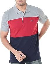 WEXFORD Men's Half Sleeves Polo Round Neck Tshirt Cotton Tshirt Casual Tshirt Tshirt