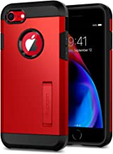 Spigen Tough Armor [2nd Generation] Designed for iPhone 8 Case/iPhone 7 Case (2018) - Red