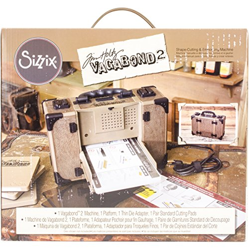 "Sizzix Tim Holtz Vagabond 2 Electric Die Cutting Machine 660855, 6"" (15.24cm) Opening, 6 in (15.24 cm)"