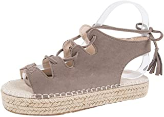Zapatos Para Plataforma Mujer 35 Yute Rl3as4c5jq Essandalias Amazon thCdrsQ