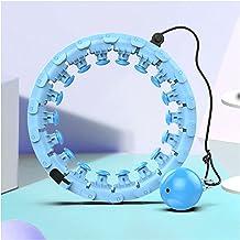 YPLDM Smart Hula Hoop, Auto-Spinning Hoop met 360 ° Diepe Massage voor Gewichtsverlies, Fitness Ring, valt niet uit, past ...