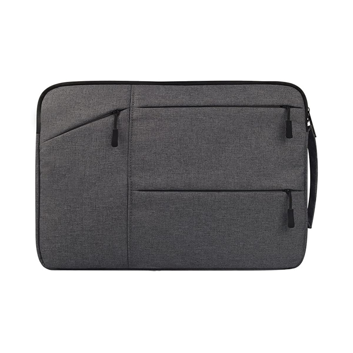 shiYsRL Ultra-Thin Laptop Tablet Sleeve Bag Case for Women Men,Portable Anti-Scratch Cover for Apple MacBook Grey 15.6Inch