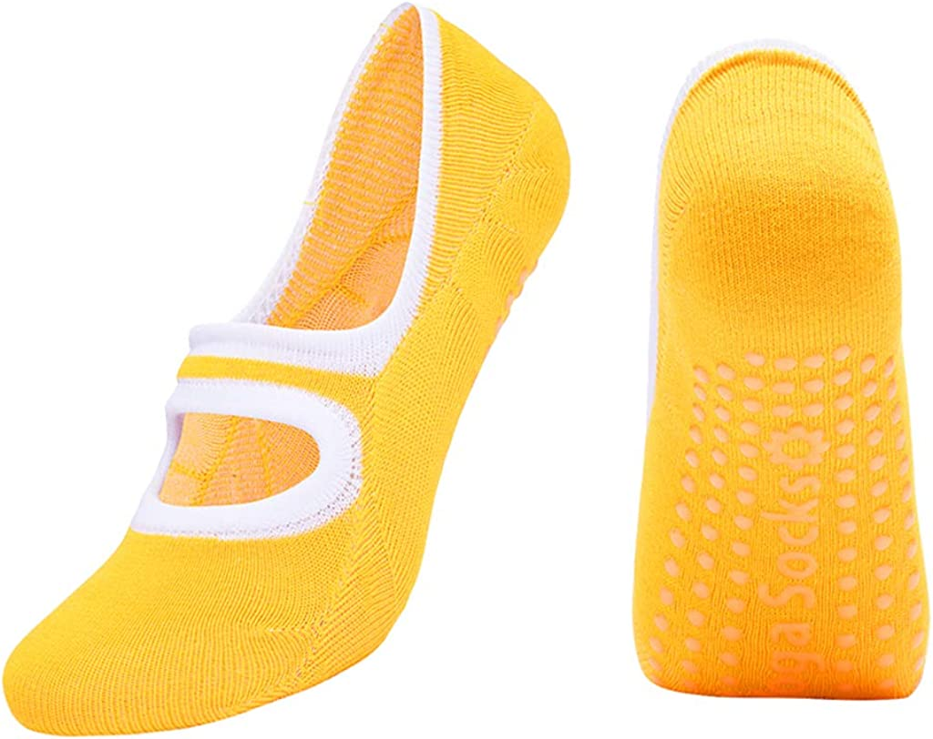 Tongina Women's Socks Non-Skid Grips Shoes