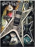Dean Guitars - Dime Stealth Snakeskin- Dimebag Darrell - 2008 Print Advertisement
