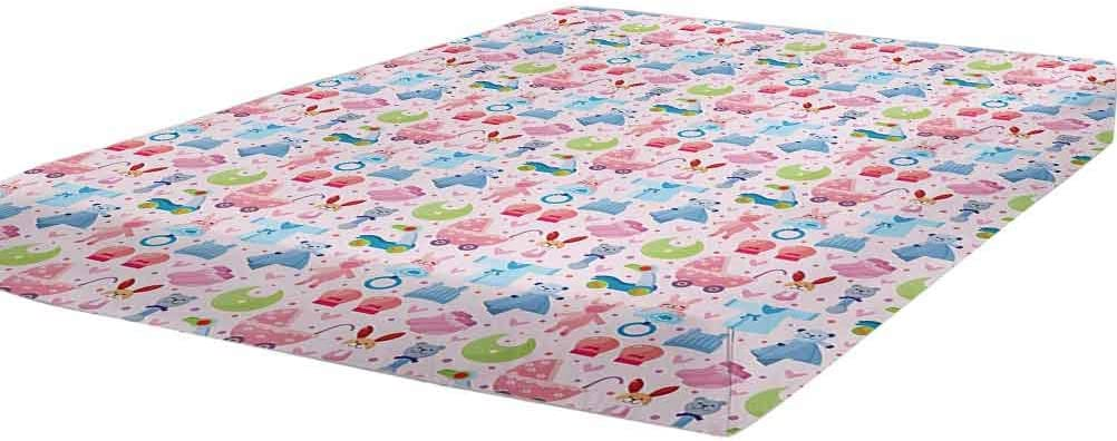 LCGGDB Baby Special Campaign Bedding Fitted Sheet Twin Te Size Childish Toys Max 85% OFF Cute