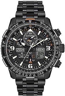 Citizen - Reloj de Hombre Cuarzo Correa y Caja de Acero dial Negro JY8075-51E