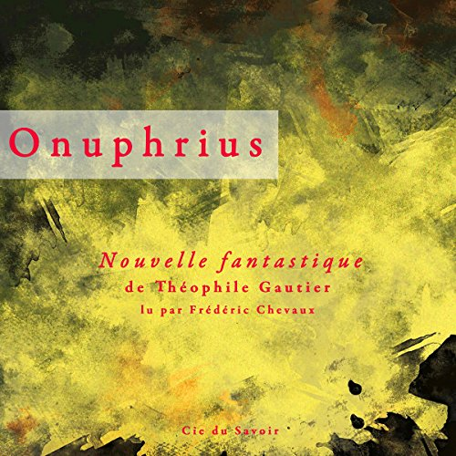 Onuphrius audiobook cover art