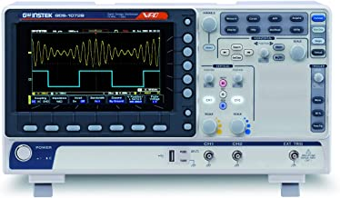 GW Instek GDS-1072B Digital Storage Oscilloscope, 2-Channel, 1 GSa/s Maximum Sampling Rate, 70 MHz, 10M Maximum Memory Depth