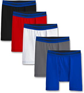 Fruit of the Loom Big Boys' 5 Pack Sport Boxer Brief