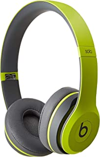 Beats Solo 2 Wireless On-Ear Headphone- Shock Yellow (Renewed)