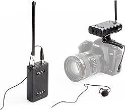 Wireless Lavalier Microphone, Saramonic SR-WM4C 4-Channels VHF Lapel Mic System (200' Range) for DSLR Camera Canon Nikon Sony Panasonic DV Camcorders Audio Recorder