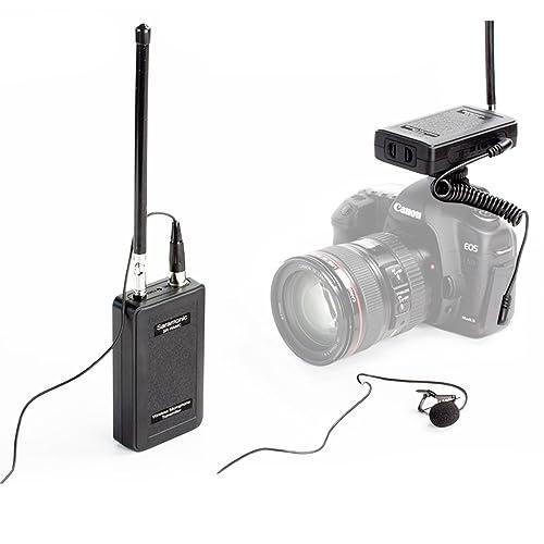 Saramonic SR-WM4C Système de Micro-cravate sans fil pour Canon 6D 600D 5D2 5D3 Nikon D800 Sony Panasonic DV DSLR Caméscopes