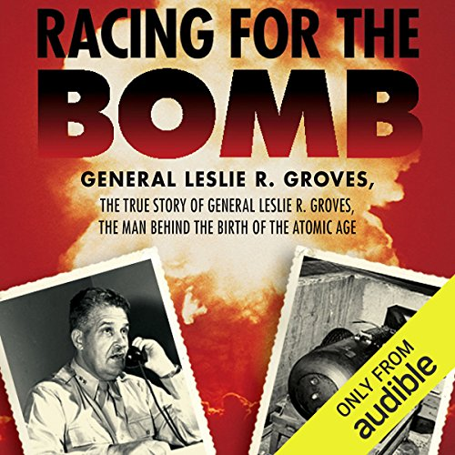 Racing for the Bomb audiobook cover art