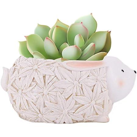 Cute Resin Animal Succulent Cactus Flower Pot Indoor Plant Holder Planter Vase