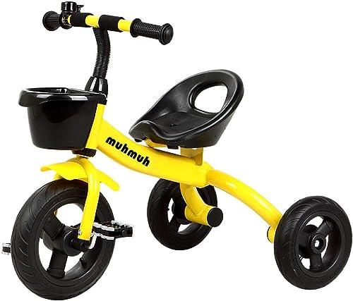 SHX ETWL Bikes Leichtes Kinder Dreirad Lauflernhilfe Trike für 2-6 Jahre