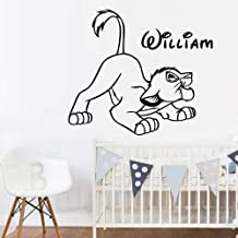 Stickers autocollant enfant Le Roi Lion r/éf 5768 Dimensions 110 cm Stickersnews