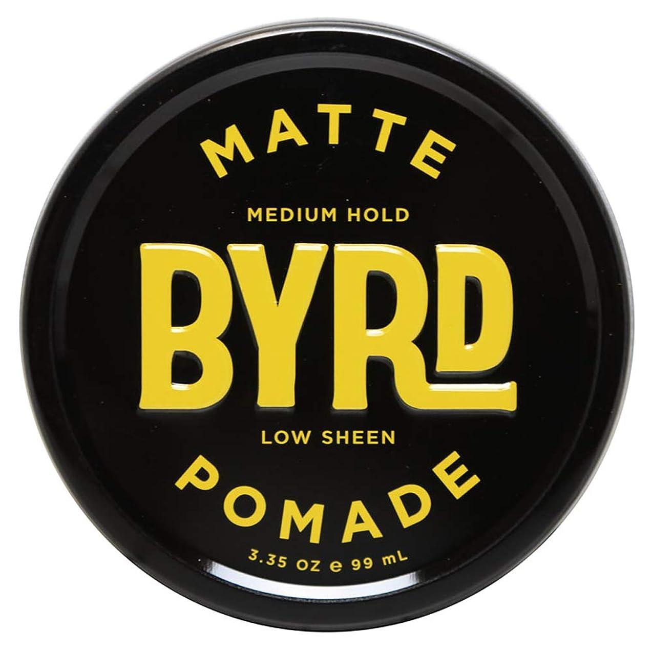 お気に入りカスケード大胆なBYRD バード MATTE POMADE 3.35OZ 99ml マット ポマード