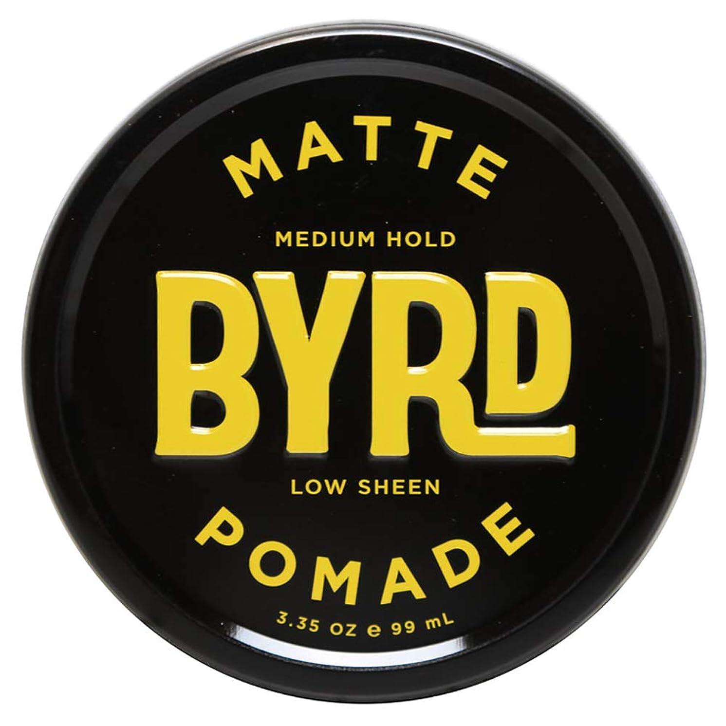 暫定ぬいぐるみ他の場所BYRD バード MATTE POMADE 3.35OZ 99ml マット ポマード