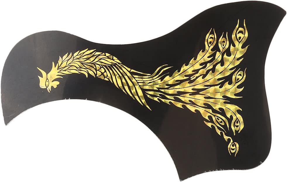 40'' 41'' Acoustic Folk Guitar Max 44% Very popular OFF Pickguard Plate with Scratch Gold