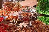 Dekosteine burgund 1 Kg Größe ca. 9mm - 13mm - Deko Steine für Haus und Garten günstig zu kaufen - Streudeko / Tischdekoration (creme) - 4