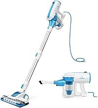 MOOSOO Vacuum Cleaner Corded 4-in-1 Bagless Handheld Vacuum for Carpet and Hard Floor..