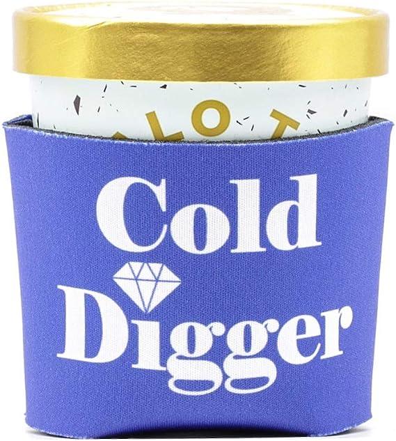Ice Cream Cozy - Cold Digger (Blue)