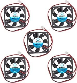WINSINN ファン 50mm ダブル ボールベアリング 扇風機 小型 5010 5V DC クーラー 5cm 50x10mm ミニ 送風機 PCのマザーボード グラフィックスカード ノースサウスブリッジ用
