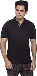 Highlander Cotton Polo Shirt for Men | Polo Collar T Shirts for Sports Gym Running - Santhome