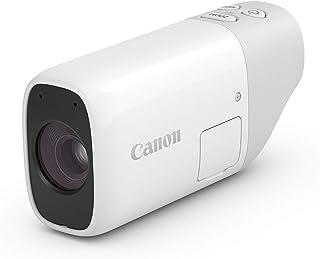 キヤノン コンパクトデジタルカメラ PowerShot ZOOM 写真と動画が撮れる望遠鏡 PSZOOM white