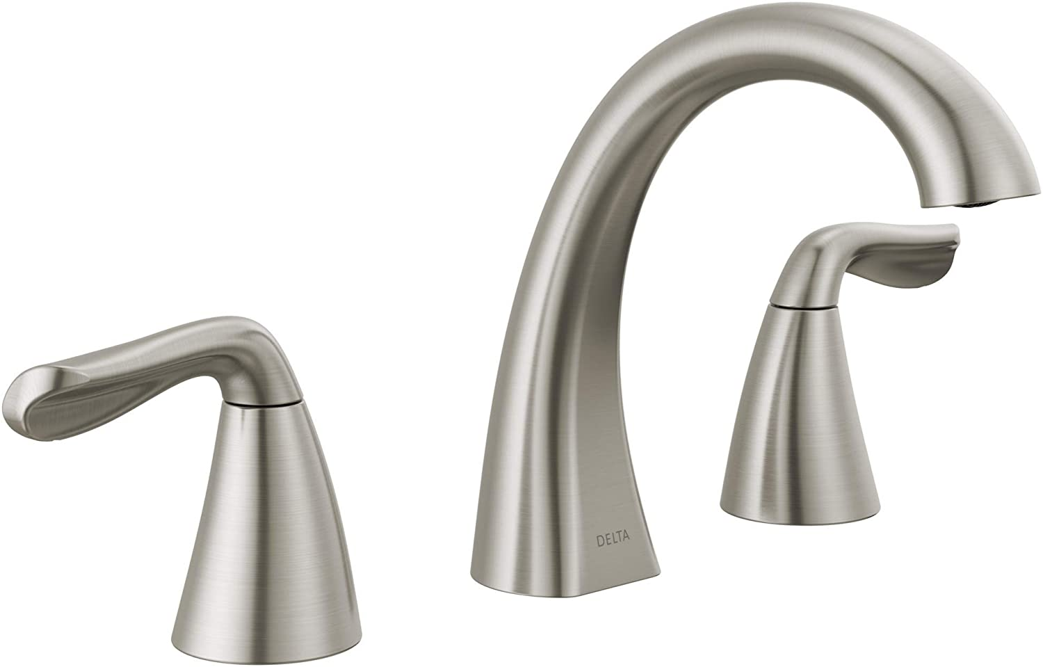 Delta Faucet Arvo Widespread Bathroom Faucet Brushed Nickel, Bathroom  Faucet 20 Hole, Bathroom Sink Faucet, Drain Assembly, SpotShield Stainless  ...