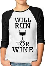 Vgd Camisas para Correr para Vino para Mujer