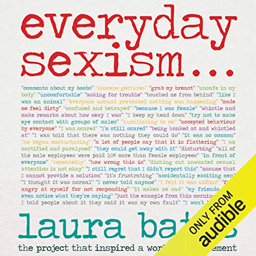 Everyday Sexism audiobook cover art