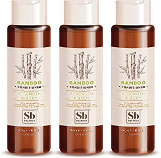 SoapBox Soaps Conditioner, Bamboo with Shea Butter, 3 Count
