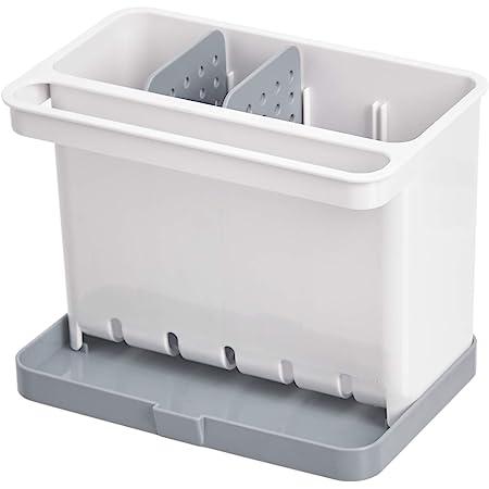 Amazon Basics Organiseur/porte-éponge pour évier de cuisine