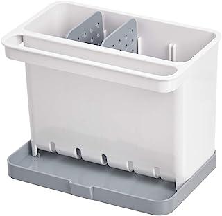 AmazonBasics Organiseur/porte-éponge pour évier de cuisine