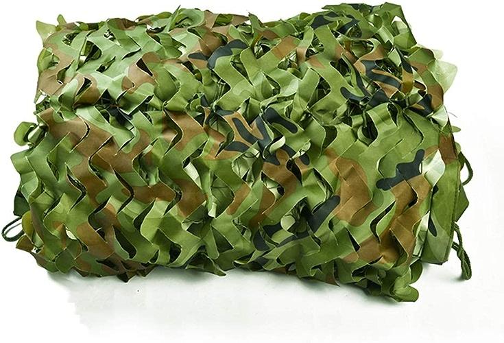 ZX- Filet de Camouflage,Filet D'ombrage Oxford En Tissu ,Pour Enfants Chasse Tir Camping Cacher Filet Militaire (taille   6X15m)